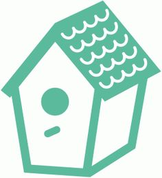Another FREE Shape this week from the Silhouette Online Store: Birdhouse