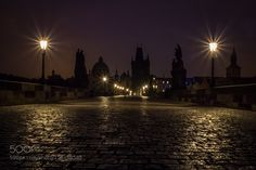 A night at the Charles Bridge. by elinh37