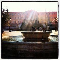 Πλατεία Συντάγματος (Syntagma Square) in Αθήνα, Αττική Athens, Four Square, Architecture, Travel, Arquitetura, Viajes, Destinations, Traveling, Trips