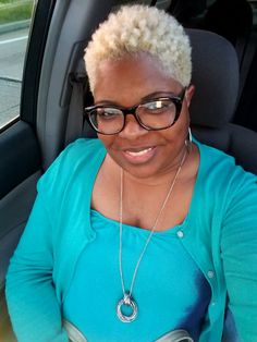 Loving my blonde hair Short Natural Styles, Natural Hair Short Cuts, Blonde Natural Hair, Short Grey Hair, Short Blonde, Short Hair Cuts, Blonde Hair, Short Hair Styles, Gray Hair