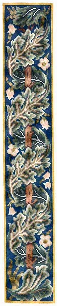 Beth Russell Acanthus Bell Pull Tapestry Kit inc. Cross Stitch Boarders, Cross Stitch Patterns, Tapestry Kits, Rose Embroidery, Needlepoint Kits, Acanthus, William Morris, Hobbies And Crafts, Needlework