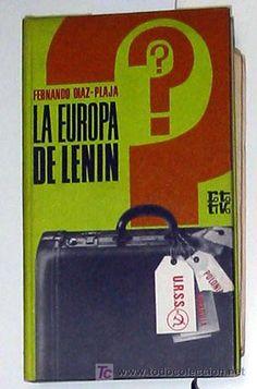 Díaz-Plaja Fernando, LA EUROPA DE LENIN