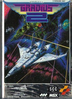 MSX GRADIUS2 instruction booklet cover