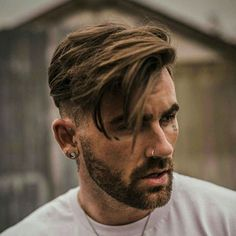 Side Swept Hairstyles Men, Mens Hairstyles With Beard, Cool Hairstyles For Men, Undercut Hairstyles, Hair And Beard Styles, Hipster Hairstyles Men, Drawing Hairstyles, Fringe Hairstyles, Winter Hairstyles