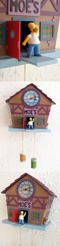Reloj de cuco de los Simpsons! - The Simpsons' cuckoo clock  #Regalos #Frikis #Geek #Gifts #Simpsons #Reloj #Clock #Cuco #Cuckoo