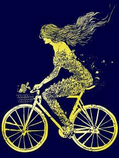 Pasea en bici