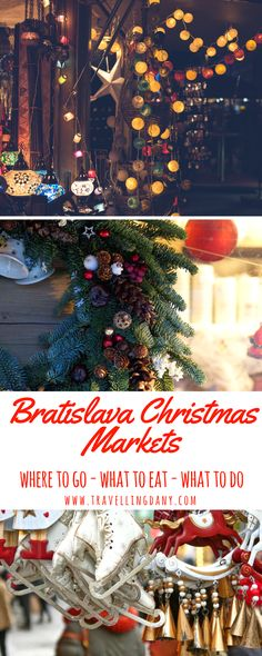 The Christmas markets in Bratislava are a long-standing tradition. Find out the dates, the best foods to eat and all the events you can't miss. Best Christmas Markets, Christmas Markets Europe, Christmas Travel, Christmas Trips, Holiday Travel, Europe Travel Guide, Europe Destinations, Spain Travel, Travel Guides