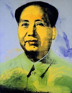 "Andy Warhol, ""Mao"", 1973, Acrylic and silk screen on Canvas"