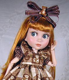 Dress fits Tonner Patience, Marley, Iplehouse bjd.  Little Charmers Doll Designs #DollDressbyLittleCharmersDollDesigns