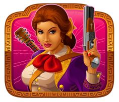 Pistoleras video slot is available for play at the #casino