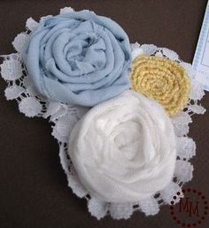 Baby shower corsage from socks!