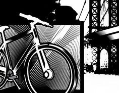 "Check out new work on my portfolio: ""bicycle brooklyn bridge""…"