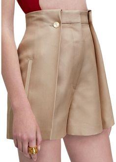 Marsielle high waisted shorts in a luxurious technical silk organza blend AcneStudios Renaissance Clothing, Steampunk Clothing, Gothic Steampunk, Victorian Gothic, Steampunk Fashion, Fashion Pants, Fashion Outfits, Gothic Fashion, Fast Fashion