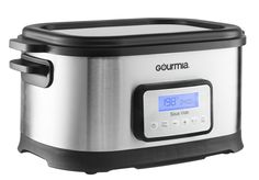 $99.99 - Gourmia 9 Qt Sous Vide Water Oven Cooker with Digital Timer and Temperature controls