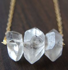 Diamond Druzy Trio