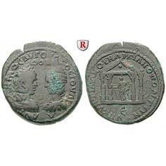 Römische Provinzialprägungen, Thrakien-Donaugebiet, Markianopolis, Caracalla, Bronze 198-217, ss: Thrakien-Donaugebiet,… #coins