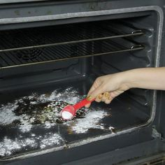 Get rid of oven grime without scrubbing or scraping!