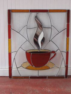 The Aroma Of Coffee - Delphi Stained Glass