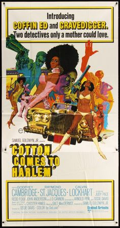 COTTON COMES TO HARLEM 1970 - Sold for 63 USD