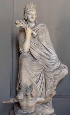Tyche -- Goddess of Fortune and Prosperity of a City