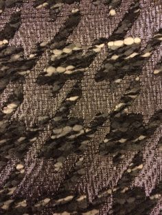 Tristate- saw weird fabric boucle lurex