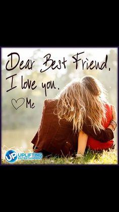 Dear best friend - Love you :-) <3