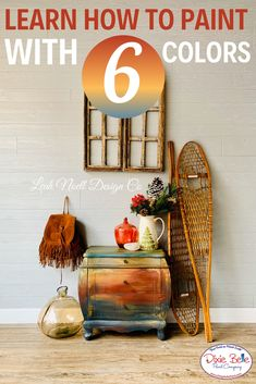 6 colors to use with Dixie Belle Paint! Diy Furniture Projects, Repurposed Furniture, Furniture Makeover, Diy Projects, Orange Painted Furniture, Dixie Belle Paint, Mineral Paint, Moda Emo, Learn To Paint