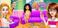 Play this Wonderful and perform a collection of with Pajama Party Games, Free Games For Kids, Crazy Girls, Fun Activities, Google Play, Bff, Night Out, Princess, Collection