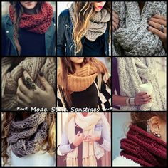 Scarfs look on facebook: Mode,Style,Sonstiges