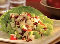 Weight Watchers Recipes with Points | Weight Watchers Crunchy Pear and Celery Salad recipe – 5 points