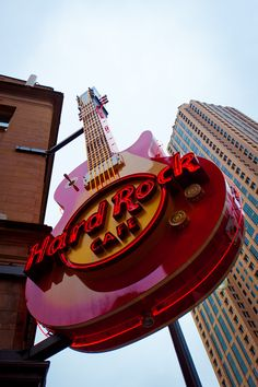 Hard Rock Cafe - Atlanta.  I've also been to the San Francisco one many times.