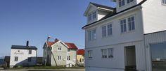 Fargeklatten Veita og leiligheten «Kristina» i bygget til høyre.