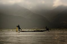 Fishermen on Inle Lake  Travel photo by anaolgagarcia http://rarme.com/?F9gZi