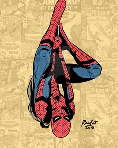 Spent the morning brushing up an old Spider-man sketchto celebrate the release of Spider-man Homecoming trailer today. More experimentation with halftones! The idea to add old covers in the b. Marvel Dc, Marvel Avengers Assemble, Marvel Heroes, Marvel Characters, Spiderman Tattoo, Spiderman Art, Amazing Spiderman, Spiderman Homecoming Drawing, Spider Man Homecoming Trailer