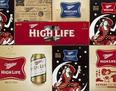 Miller High Life Package Design and Visual Identity | Miller Genuine Draft (MGD) | Landor Associate