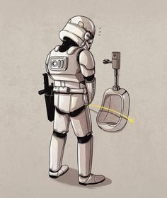 Interesting fact, the storm troopers were ordered to intentionally miss Luke and his friends so they would lead the empire to the rebels secret base.