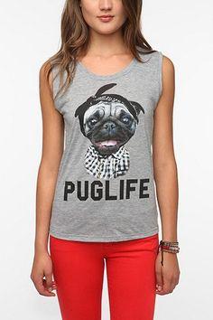 Pug Life Muscle Tee