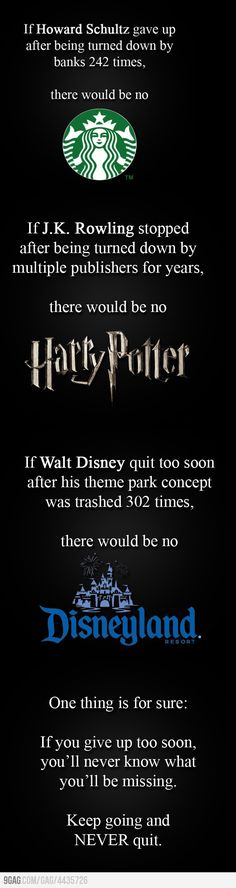 "Another pinner said... ""I post this because the thought of no Disney world makes me want to cry, also what would I have done with myself if there was no Harry Potter or Starbucks to help keep me awake while reading Harry Potter? Not that you need much more than the storyline itself..."" I AGREE!!!:)"