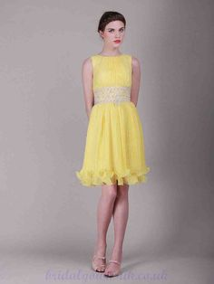 Yellow Bridesmaid Dresses Uk
