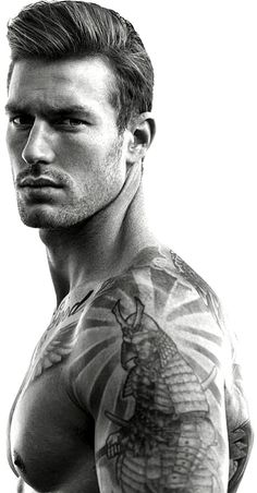 Handsome Faces, Madly In Love, Turquoise Water, Many Faces, Statue, Black N White, Male Models, Tatoos, Modeling