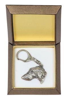 NEW Cavalier dog keyring key holder in casket by ArtDogshopcenter Basenji Dogs, Rottweiler Dog, Weimaraner, Vizsla Dog, Cairn Terriers, Bull Terrier Dog, Chinese Shar Pei Dog, St Bernard Dogs, Bearded Collie