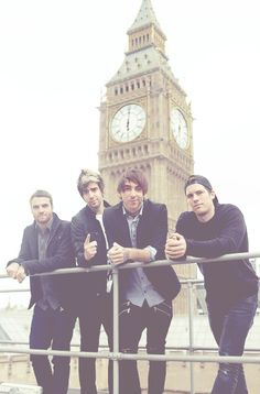 All Time Low ❤ this band is just amazing...They're unexplainable.