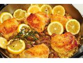 P90x Lemon Garlic Chicken recipe