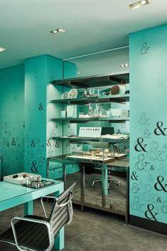 4f3a1711427 整間Tiffany Blue的大理石咖啡廳!Tiffany   Co. 紐約第五