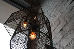 recycled lamp www.somethings.pl