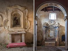 Beauty of abandoned buildings after an earthquake l Photo Gianluca Tesauro l #BuonaFortuna #Italy