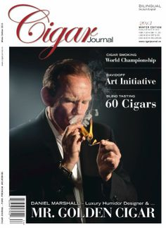 DM on the Cover of Cigar Journal