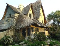The Witches House also known as The Spadena House, Beverly Hills, CA. Storybook houses of Los Angeles