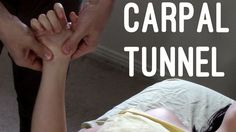 Massage Tutorial: Carpal tunnel syndrome (myofascial release) ❤ https://www.youtube.com/watch?v=g-q8CL3FmJg