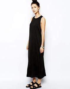 cheap monday black maxi dress